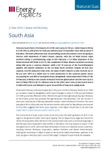 2019-03-21 Natural Gas - Global LNG - South Asia cover