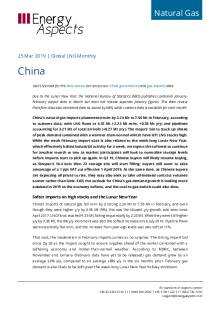 2019-03-25 Natural Gas - Global LNG - China cover