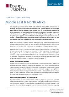 2019-03-28 Natural Gas - Global LNG - Middle East & North Africa cover