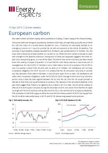 2019-04-15 Emissions - Carbon weekly - European carbon cover
