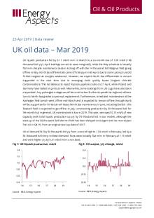 2019-04 Oil - Data review - UK oil data – Mar 2019 cover