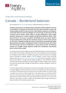 Canada – Borderland balances cover image