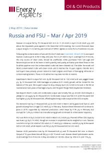 Russia and FSU – Mar / Apr 2019 cover image