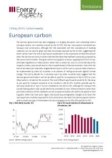 2019-05-13 Emissions - Carbon weekly - European carbon cover