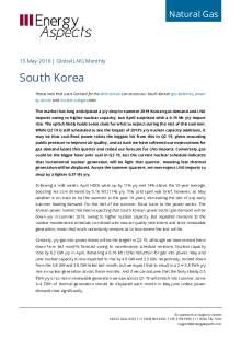 2019-05-15 Natural Gas - Global LNG - South Korea cover