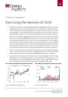 2019-05-13 Oil - Perspectives - Exercising the demons of 2018 cover