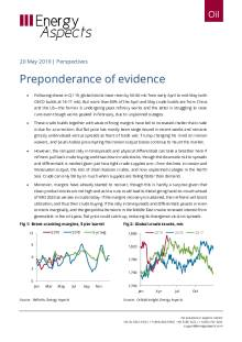 2019-05-20 Oil - Perspectives - Preponderance of evidence cover