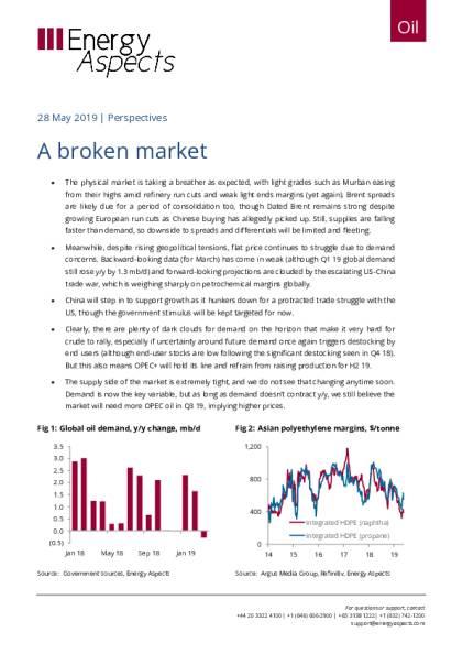 A broken market - Energy Aspects