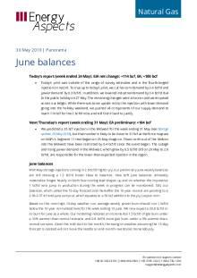 June balances cover image