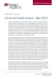 US oil and shale output – Mar 2019 cover image