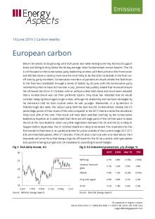 2019-06-10 Emissions - Carbon weekly - European carbon cover