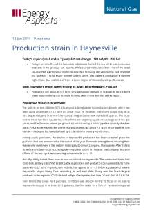 Production strain in Haynesville cover image