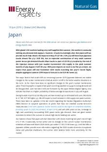 2019-06-19 Natural Gas - Global LNG - Japan cover