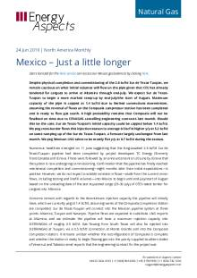 Mexico – Just a little longer cover image