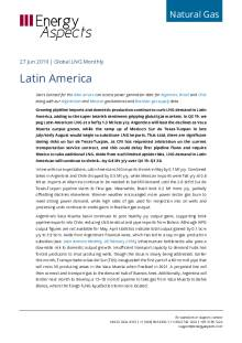 2019-06-27 Natural Gas - Global LNG - Latin America cover