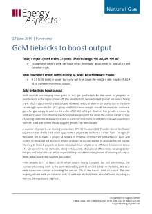 GoM tiebacks to boost output cover image