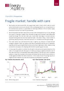 2019-07-15 Oil - Perspectives - Fragile market: handle with care cover