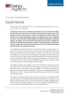 2019-07-16 Natural Gas - Global LNG - South Korea cover