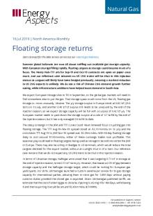 2019-07-16 Natural Gas - North America - Floating storage returns cover