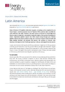 2019-07-30 Natural Gas - Global LNG - Latin America cover