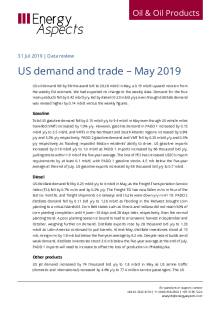 US demand and trade – May 2019 cover image