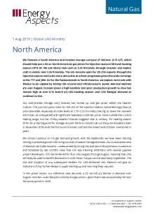 2019-08-01 Natural Gas - Global LNG - North America cover