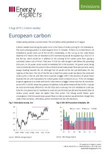 2019-08-05 Emissions - Carbon weekly - European carbon cover