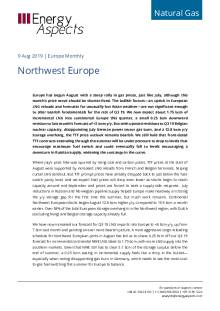 2019-08-09 Natural Gas - Northwest Europe cover