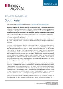 2019-08-26 Natural Gas - Global LNG - South Asia cover