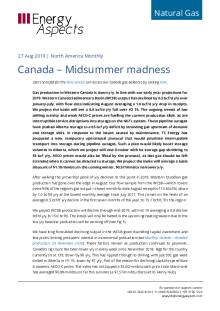 Canada – Midsummer madness cover image