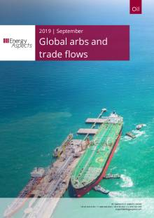 2019-09 Global arbs and trade flows - Outlook cover