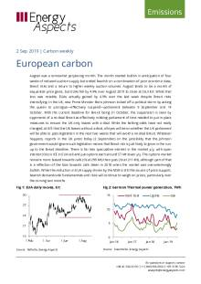 2019-09-02 Emissions - Carbon weekly - European carbon cover