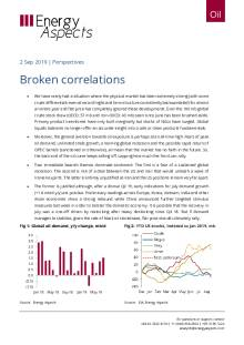 2019-09-02 Oil - Perspectives - Broken correlations cover