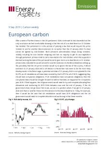 2019-09-09 Emissions - Carbon weekly - European carbon cover