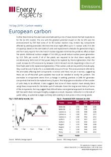 2019-09-16 Emissions - Carbon weekly - European carbon cover