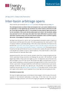 Inter-basin arbitrage opens cover image