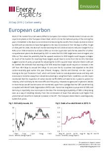 2019-09-30 Emissions - Carbon weekly - European carbon cover