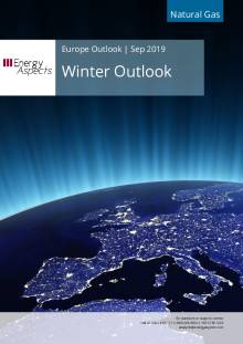 2019-09-13 Natural Gas - Europe - Winter Outlook cover