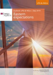 2019-09 LPG and NGLs - Outlook - Eastern expectations cover