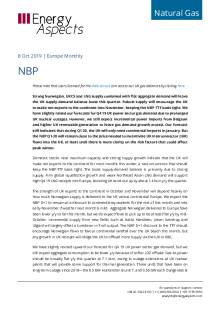 2019-10-08 Natural Gas - Europe - NBP cover