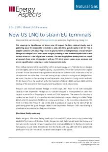 2019-10-08 Natural Gas - Global New US LNG to strain EU terminals cover