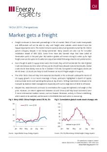 2019-10-14 Oil - Perspectives - Market gets a freight cover