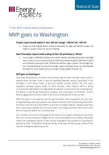 2019-10-17 Natural Gas - North America - MVP goes to Washington cover