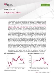 2019-10-21 Emissions - Carbon weekly - European Carbon cover