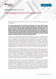 The struggle to shut in US liquefaction cover image