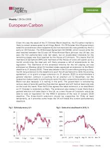 2019-10-28 Emissions - Carbon weekly - European Carbon cover