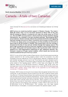 Canada – A tale of two Canadas cover image