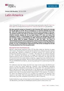 2019-10-30 Natural Gas - Global LNG - Latin America cover