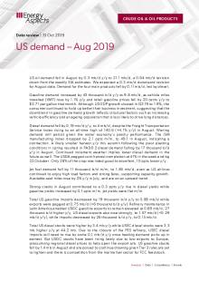 US demand – Aug 2019 cover image