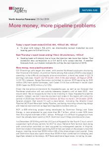 More money, more pipeline problems cover image